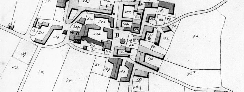 La mappa del 1854